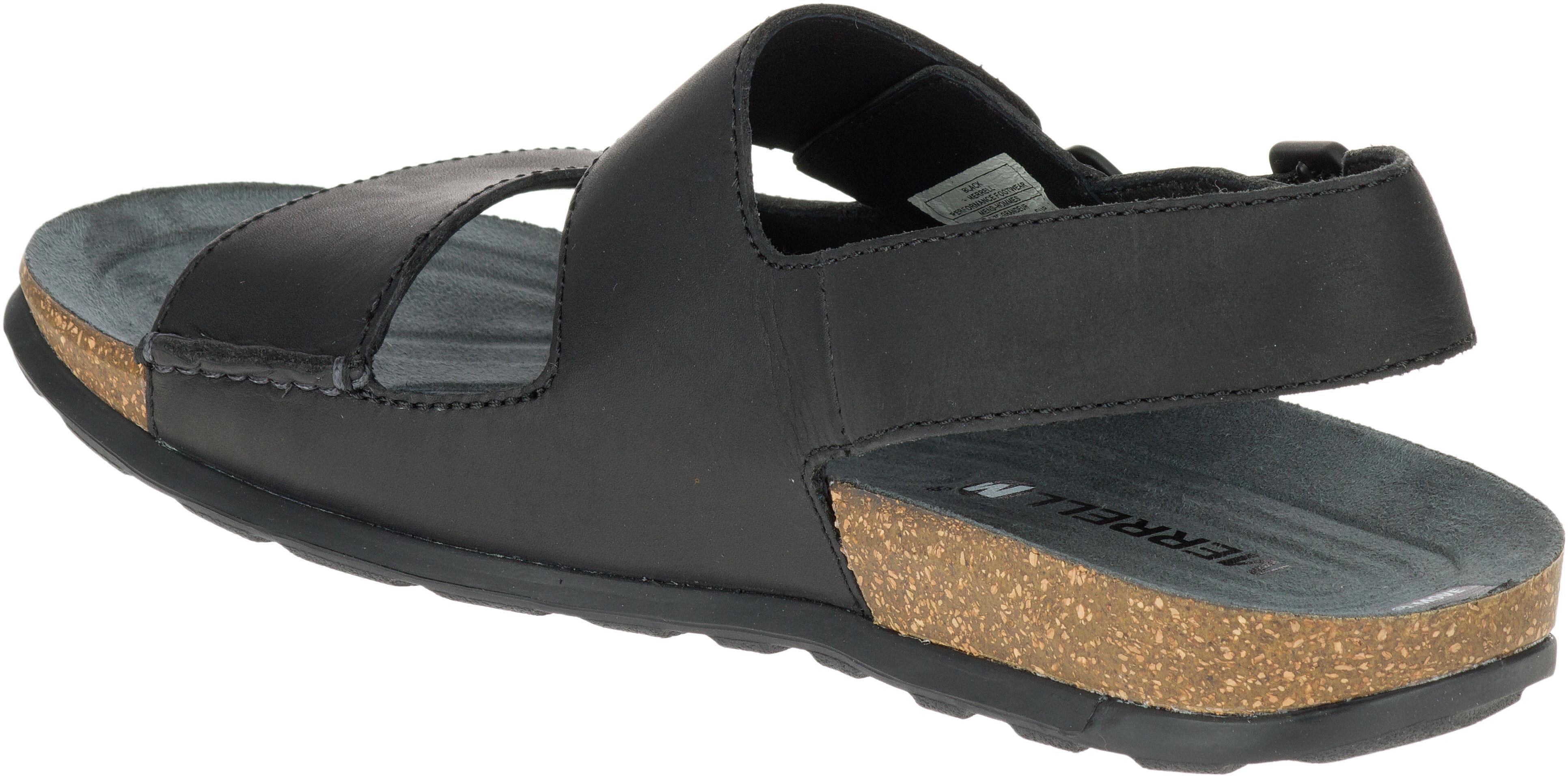 84ad475ea2 Merrell Downtown Backstrap Buckle Sandals Men black